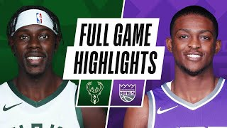 Game Recap: Bucks 129, Kings 128