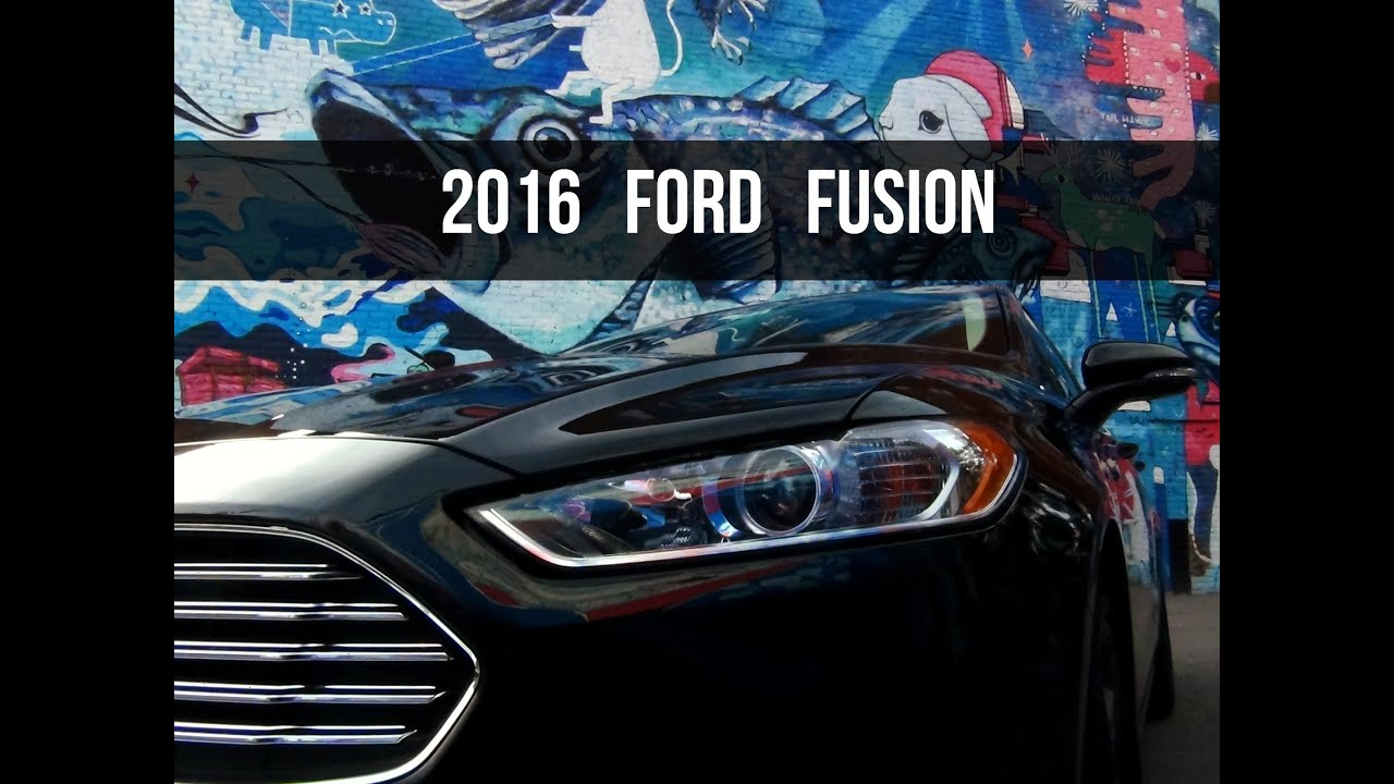 2016 ford fusion se review what makes it so good youtube. Black Bedroom Furniture Sets. Home Design Ideas