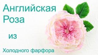 Английская роза заколка из холодного фарфора урок(В этом уроке я покажу вам как сделать брошь-заколку Английская Роза из холодного фарфора. Мастер-класс прос..., 2016-05-13T11:18:10.000Z)