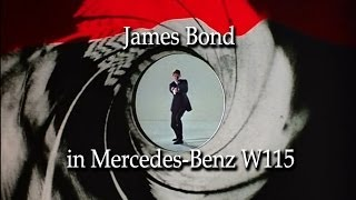 Repeat youtube video Mercedes W115 James Bond