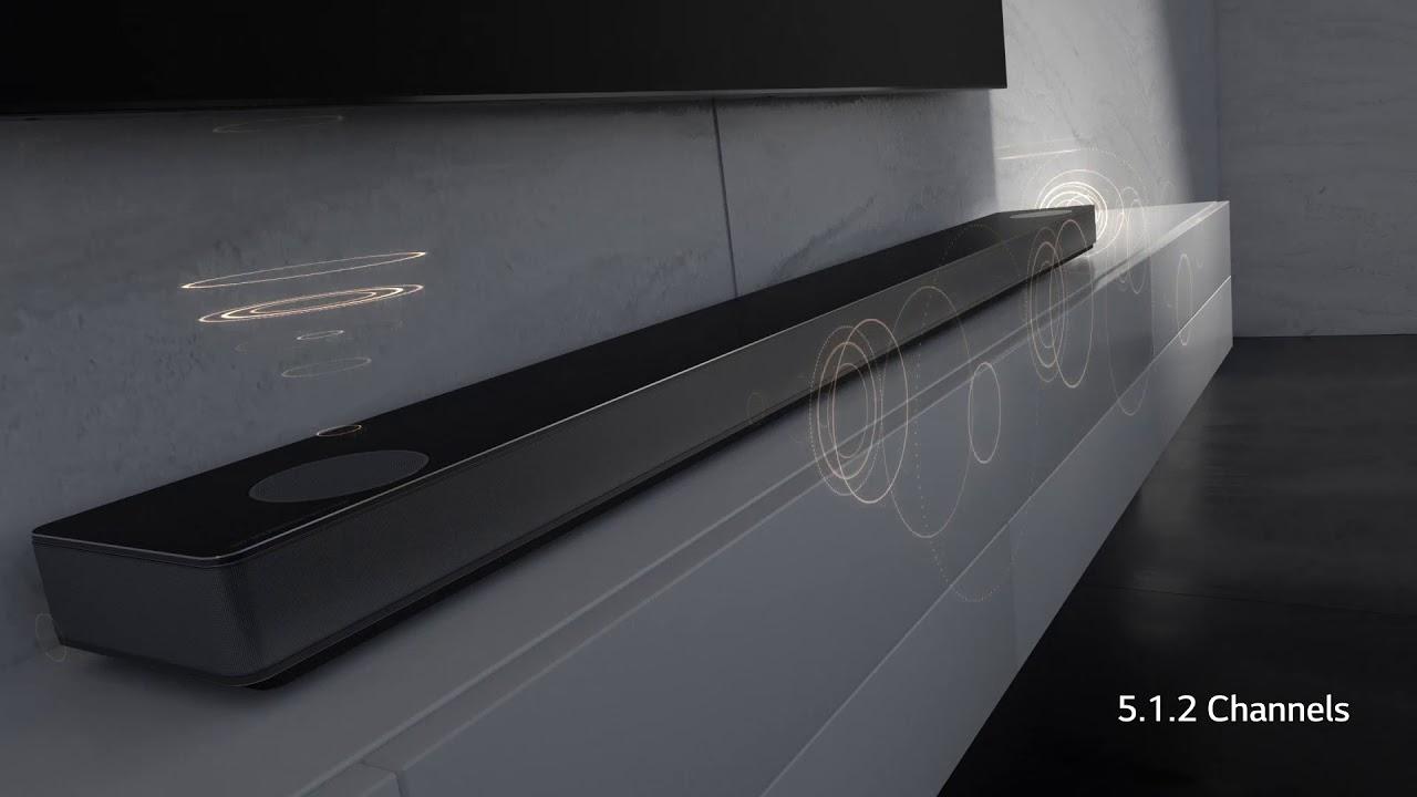 LG SK10Y 550W 5 1 2-Channel Soundbar System