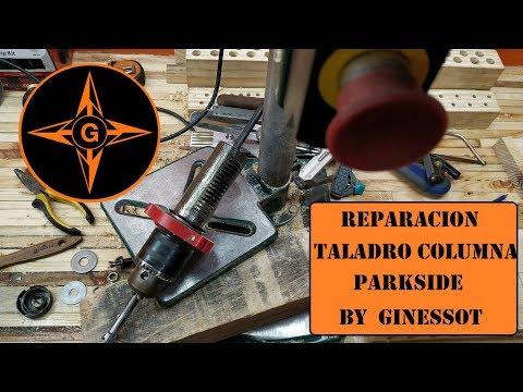 #REPARACION TALADRO COLUMNA #PARKSIDE PTBM 500 D4 DEL #LIDL MUY BARATO GINESSOT