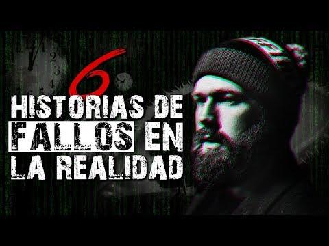 6 Historias sobre FALLOS EN LA REALIDAD III │ MundoCreepy │ MaskedMan (Con Maye Ramos)