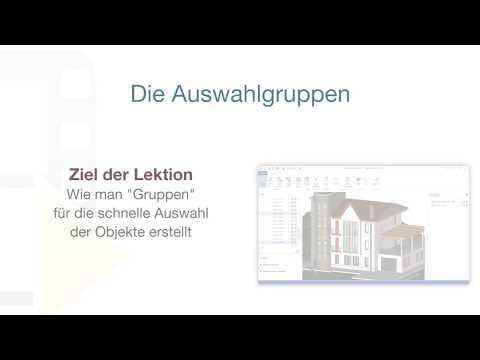 Tutorial von usBIM.viewer+ - Die Auswahlgruppen - ACCA software thumbnail