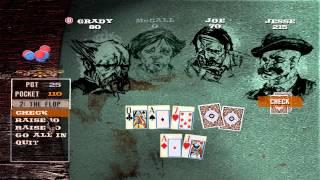 PC Game Walkthrough - GUN - Poker Tournament Round 3