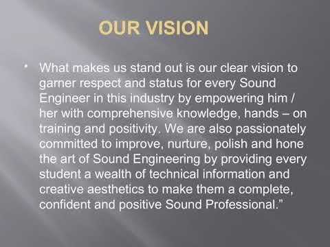 Sound Engineering Courses