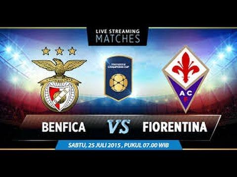 Benfica Lisbon vs AC Fiorentina 2015 Full Match -  International Champions Cup