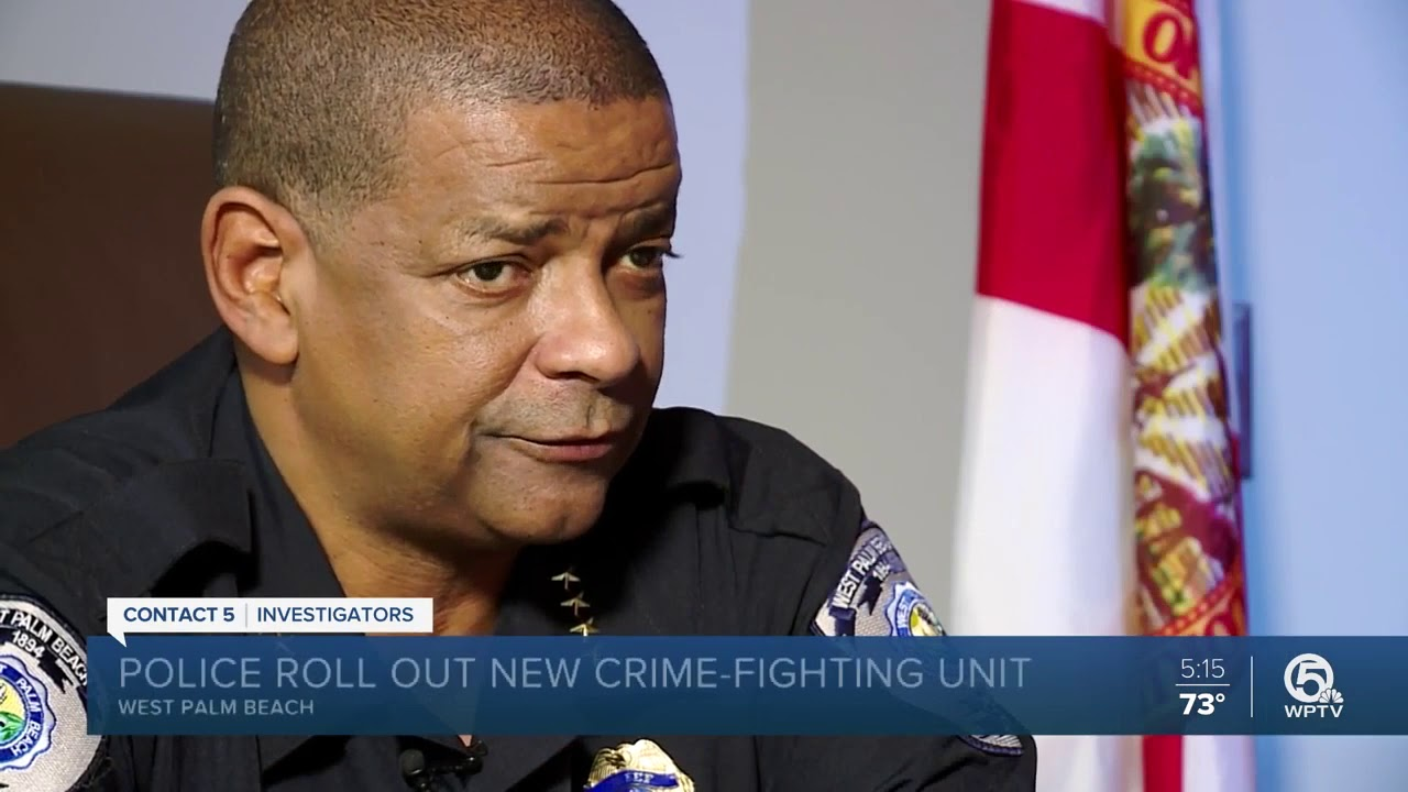 Contact 5 Exclusive: West Palm Beach police roll out new crime-fighting unit, G.H.O.S.T.