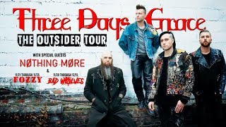 Three Days Grace - The Outsider Tour