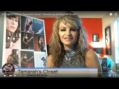 "LIVE INTERVIEW in Tamarah's Closet:  ""Introducing Guitarist Nili Brosh"""