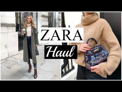 NEW IN ZARA HAUL | AUTUMN/WINTER UNBOXING & TRY ON