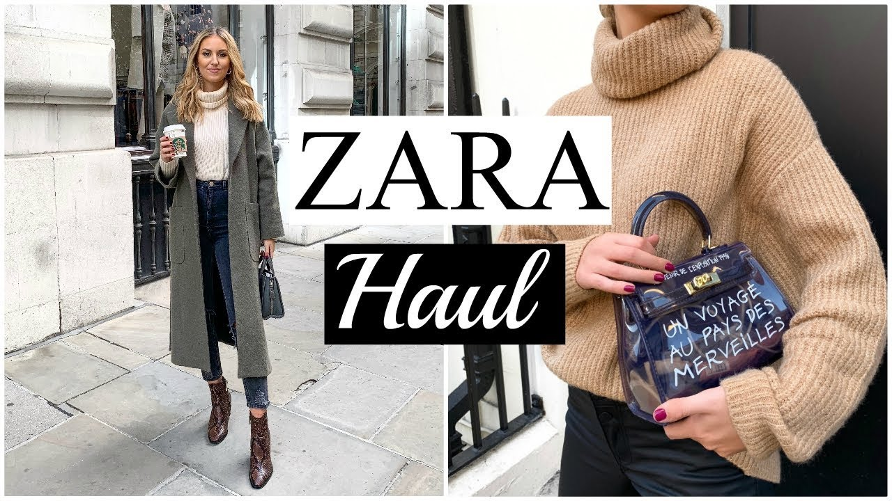 [VIDEO] - NEW IN ZARA HAUL | AUTUMN/WINTER UNBOXING & TRY ON 9