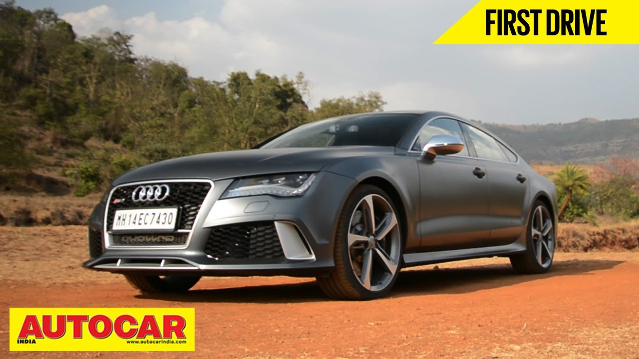 Audi RS In India First Drive Video Review Autocar India YouTube - Audi autocar