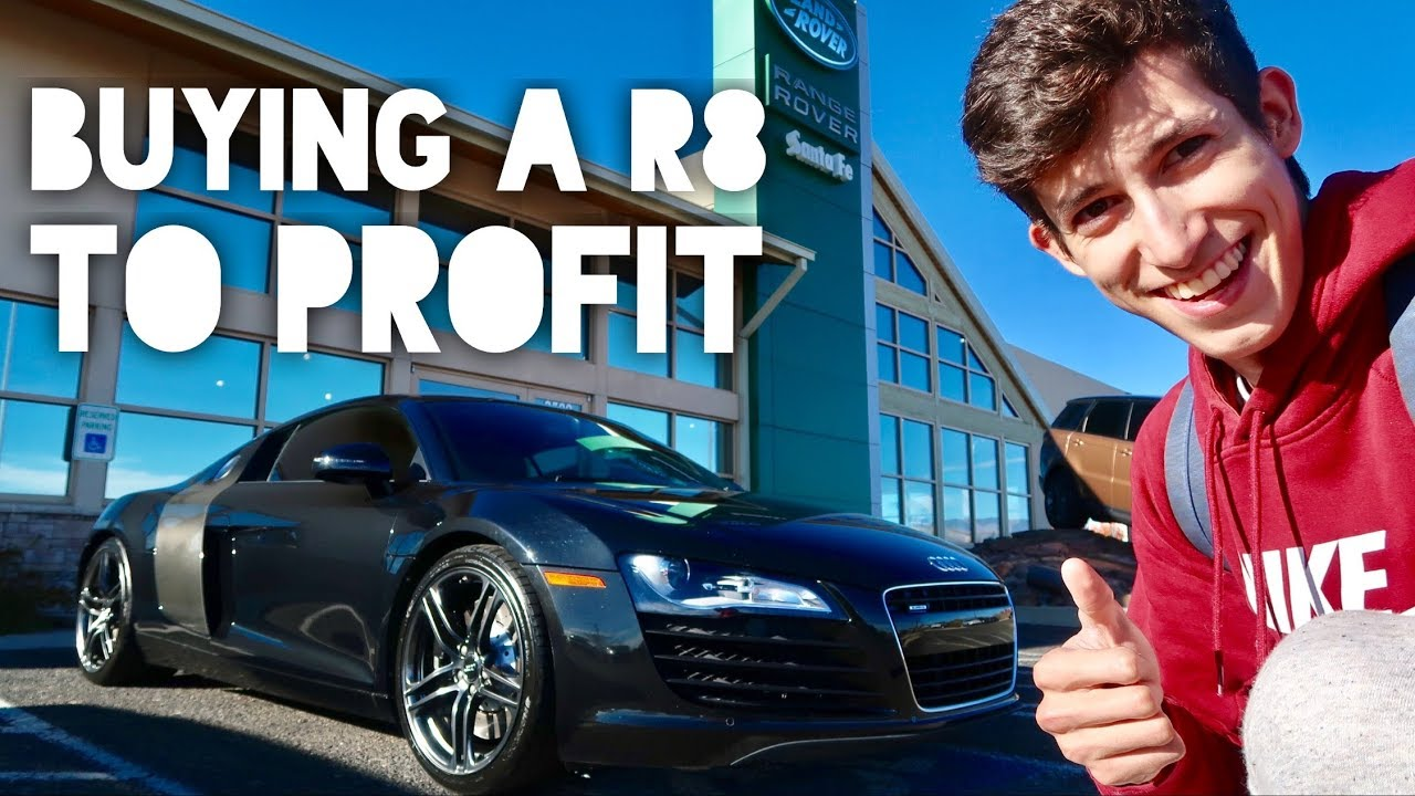 I Bought An Audi R8 Cash | Why I Resell Exotic Cars For Profit