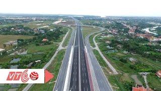 Ngắm cao tốc hiện đại nhất Việt Nam từ trên cao | VTC
