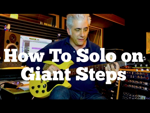 How To Solo On Giant Steps By John Coltrane Part 1