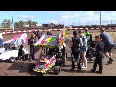 Willamette Speedway, OR - Caged Frenzy - 125cc Cage-Kart Interview - September 10, 2017