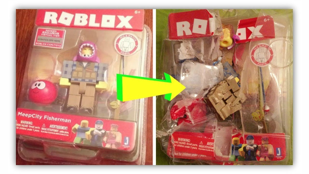 Meep City Fisherman Roblox Toy Meepcity Roblox Toy Dies Gone Wrong Ft My Cat Youtube