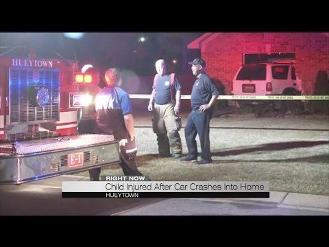 Car Crashes Into Hueytown Home