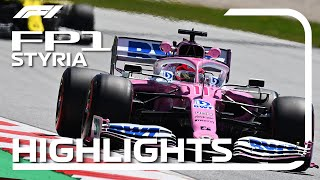 2020 Styrian Grand Prix: Fp1 Highlights
