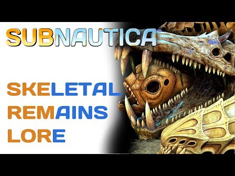 Subnautica Lore: Skeletal Remains | Video Game Lore
