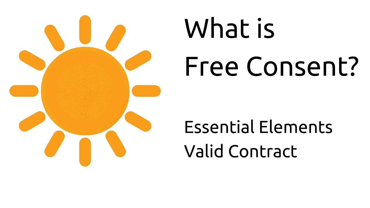 What Is Free Consent | Other Essential Elements Of A Valid Contract | CA  CPT | CS U0026 CMA Foundation