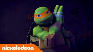 Черепашки-ниндзя | Первая битва ниндзя | Nickelodeon Россия