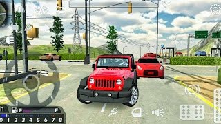 Car Parking Multiplayer - Jeep Wrangler Car Driving - Car Games Android Gameplay