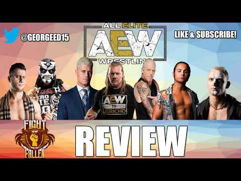 AEW Fight For The Fallen Full Show Review | A Solid But Long Winded Show!