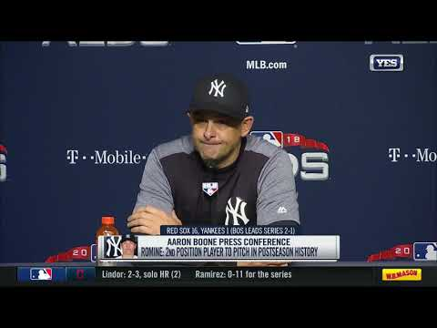 Aaron Boone on the Yankees 16-1 loss to Boston
