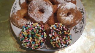 Пончики с Заварным Кремом қазақша рецепт
