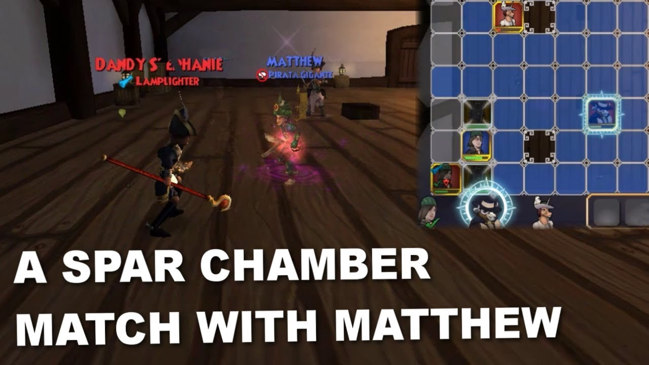 Repeat Pirate101: A Spar Chamber Match with Matthew (No