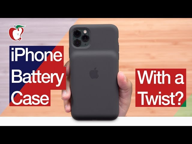 The iPhone 11 Smart Battery Case With a Twist?
