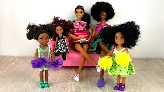 Cheerleading Tryouts with Barbie Sisters! Sisters Meet A Bully | Naiah and Elli Doll Show Ep. 20