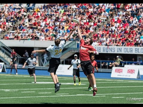 Top 10 Ultimate Frisbee Plays | Sunday Championship ...