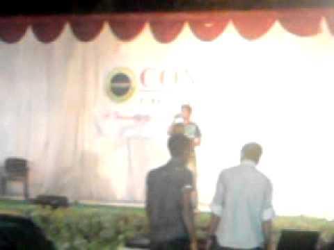 Amol Gangaji @ concepts party singing HAVA HAVA