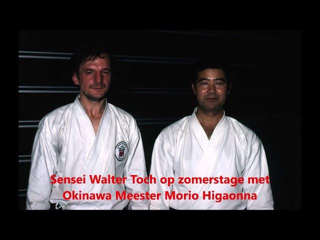 Karate Periode Sensei Walter Toch 1970 tot 1987