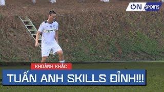 """HA. Gia Lai có cố vấn mới, Tuấn Anh tung """"skills"""" cực dị trong buổi tập thumbnail"""