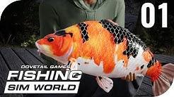 FISHING SIM WORLD #1 - ERSTER BLICK INS SPIEL || PantoffelPlays