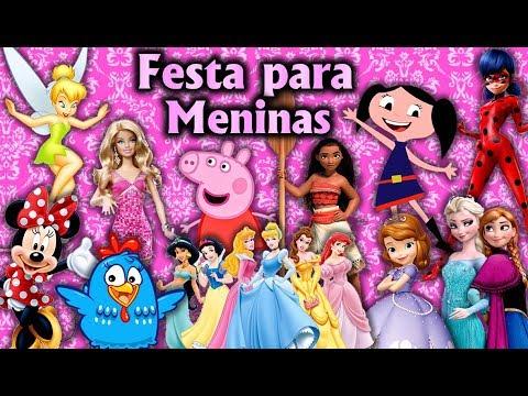 Party Decoration Theme for Girls - Children's Birthday - Fiesta / Party Kids / Ideas