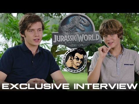 Nick Robinson & Ty Simpkins   Jurassic World HD 2015