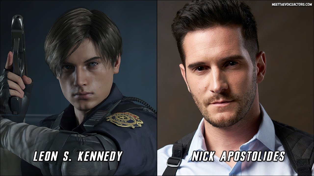 Resident Evil 2 Remake Characters Voice Actors Youtube