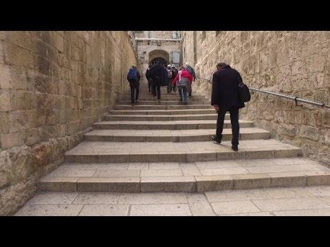 Caminando en las huellas de Jesús
