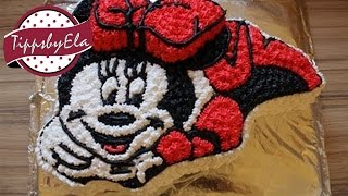 How to make a Minnie Mouse cake / Mickey Mouse Magic House