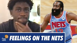 How Does Caris LeVert Honestly Feel About The Nets After Being Traded For James Harden | JJ Redick