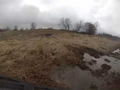 atv can am 1000 s mudding and water fun with h&h motorsports