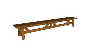 Dining Bench Plans