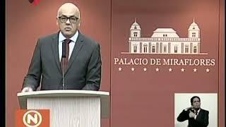 Jorge Rodríguez anuncia concierto en frontera Venezuela-Colombia el 22 y 23 febrero