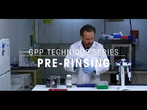 Pre-rinsing Pipette Tips - Good Pipetting Technique