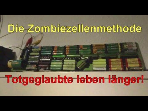 Energieautark sein - Zombiezellenmethode